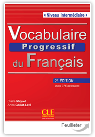 Vocabulaire progressif du Français Intermediaire (2 books) - Click to enlarge picture.